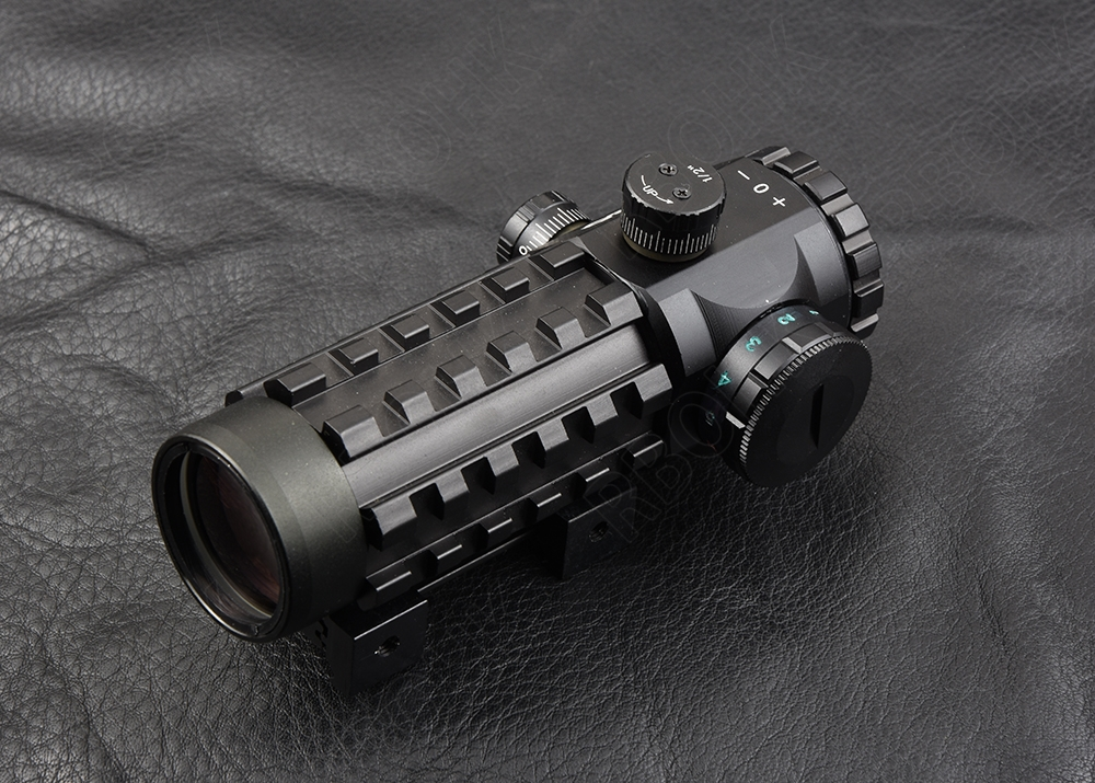 ФОТО Rambo 4x28 EG Rifle scope for picatinny and 11mm rail mount hunting shooting M7924