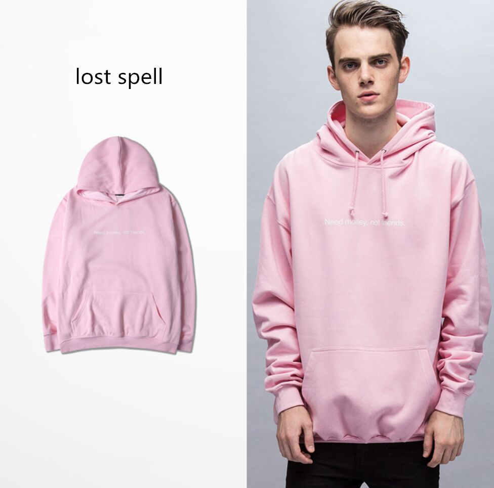 2017 mens pink hip hop hoodies fashion streetwear sudaderas hombre kanye west sweat homme brand. Black Bedroom Furniture Sets. Home Design Ideas