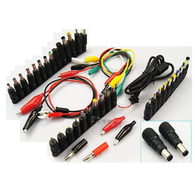 48 in 1 universal laptop AC DC jack power supply adapter con