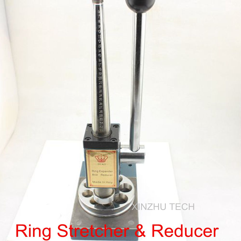 Ring Stretcher & Reducer Enlarger Sizer Bench Expander Band Repair Jewelry Tools Equipments 6 Truncks HongKong Size 6 33