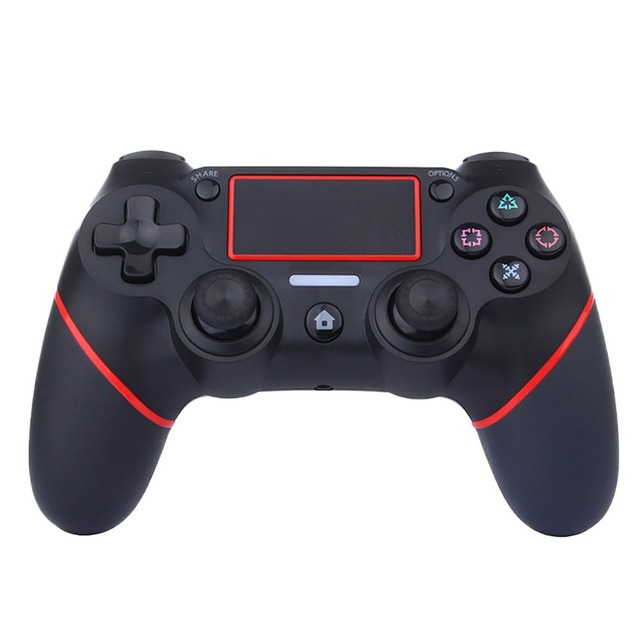 3 สีไร้สายบลูทูธเกมคอนโซลสำหรับ Sony PS4 Playstation 4 จอยสติ๊ก