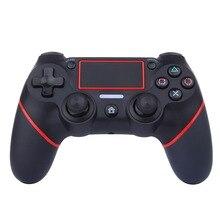 3 اللون سماعة لاسلكية تعمل بالبلوتوث غمبد أذرع التحكم في ألعاب الفيديو وحدة التحكم الوسادة لسوني PS4 بلاي ستيشن 4 المقود