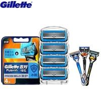 Gillette Fusion Proshield Razor Shaving Razor Blades Brands Shaver Blades Replacement Shaver Head Cooling Beard Shaving Razors