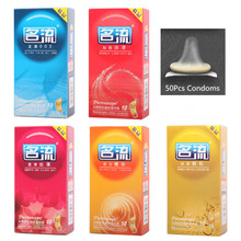 10 Pcs/Lot Hot Sale Quality Sex Products of Natural Latex Condoms for Men Adult Better Sex Toys Safer Contraception