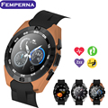 Femperna NB-1 Bluetooth Smart Watch NO.1 G5 MTK2502 Ultra Slim WristWatch with Heart Rate Monitor Sync SMS for Android IOS Phone