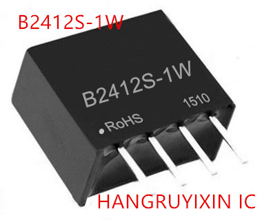 IC 5PCS NEW B2412S 1W B2412S 1W SIP 4 IC