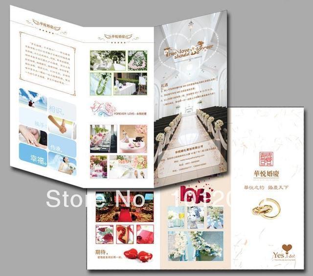 Tri Fold Broschüre Druck/dreifachfalz broschüre/Werbung broschüren ...
