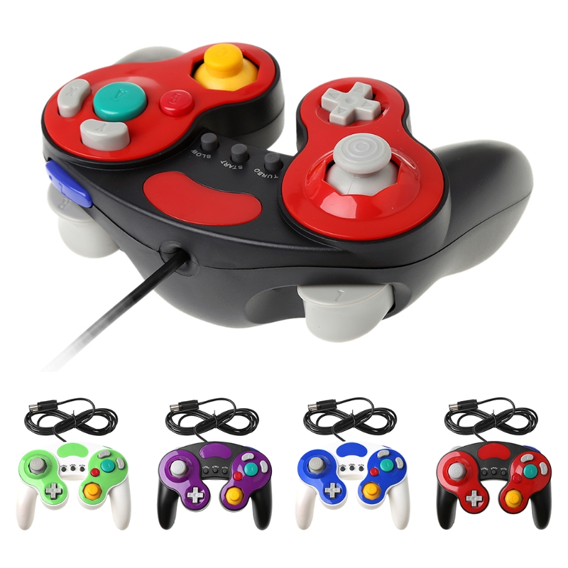 Wired Handheld Joystick Gamepad Controller For Nintendo Gamecube Wii NGC ConsoleWired Handheld Joystick Gamepad Controller For Nintendo Gamecube Wii NGC Console