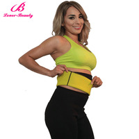 Lover Beauty Hot Sauna Sweat Neoprene Shapers Slimming Belt Waist Cincher Girdle For Weight Loss Corset