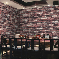 beibehang Natural stone design brick wall wallpaper Stone Rock Effect Vinyl Wall paper Roll wall paper papel de parede 3d