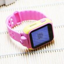 400mah 1.54 touch screen wifi/gps 3g gps tracker kids smart watch
