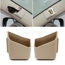 2Pcs Universal Car Auto Accessories Glasses Organizer Storage Box Holder 3 Colors