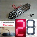 """18""""red color digita numbers module,led gas ,led oil price,7 segment of the modules,High brightness led chip,led billboard,clock"""