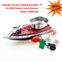 3 Color RC Bait Thrower Fishing Boat 300M Remote Control Fishing Feeder Lure Carrier 5 Hours