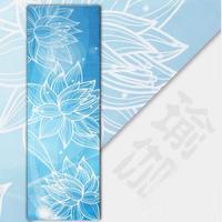 Lotus 3.5 mm Environmental Natural Rubber Yoga Mattress Non Slip Keep Fit Aerobics Yoga Pad Fitness Mat Lose Weight Yoga Mat