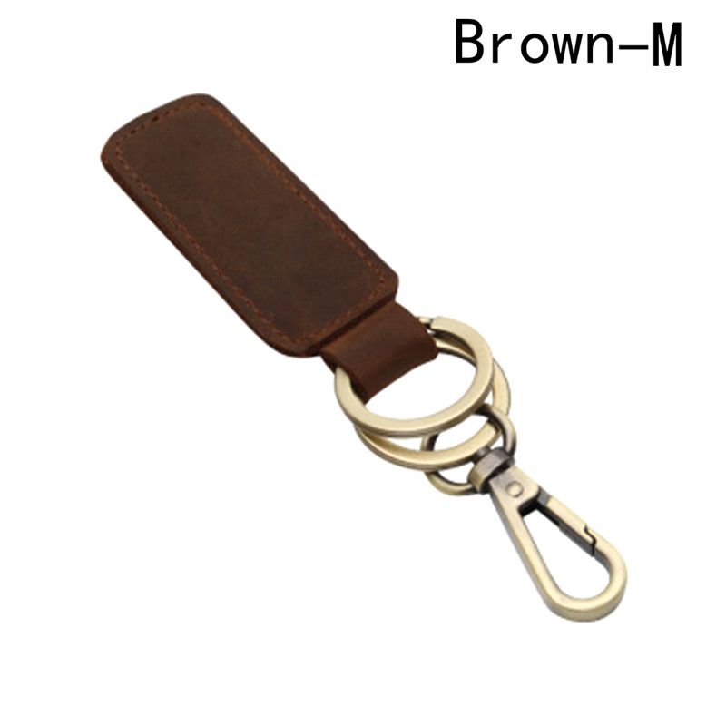 New Mode Style Mens leather key chain waist buckle metal pendant key shop fashion gifts