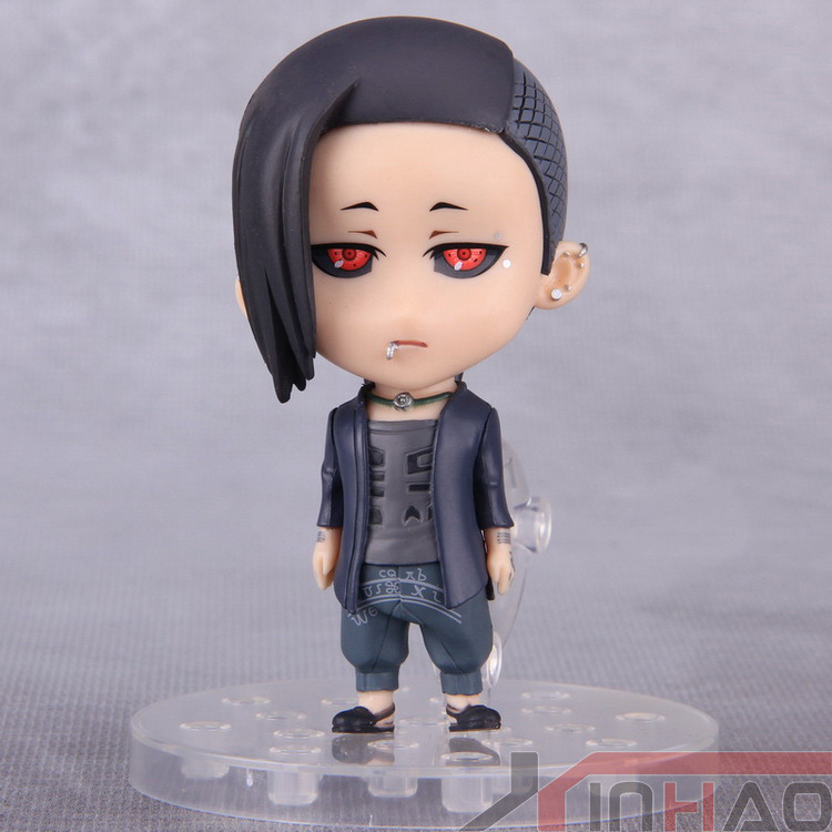 10cm Anime Tokyo Ghoul Uta Cosplay Figure Q Version PVC Action Figures Collectible Model Toys Dolls Christmas Gifts With Box 17cm japanese anime action figures guilty crown inori yuzuriha pvc figure dolls gifts toys displays