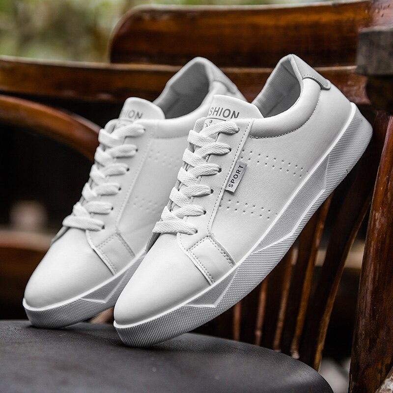 Blanco Femenino Zapatos Hombres Caminando Nuevos Cuero Casuales Zapatillas Black Primavera Tenis Los blue gray Mocasines De 2019 wzxUOqv