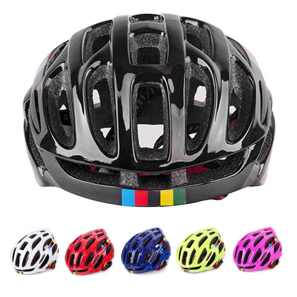 2018 NEW Bicycle Helmets Matte Black Men Women Bike Helmet Back Light Mountain Road Bike Integrally Molded Cycling Helmets