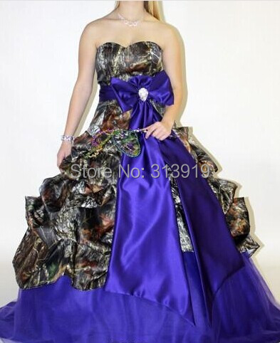 mossy aok camo   prom     dresses   2019 new styles camouflage ball gowns
