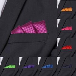 Модные костюмы карманные квадратные для мужчин деловые нагрудные полотенца Hanky нежный для мужчин плед Hankies классический костюм салфетка
