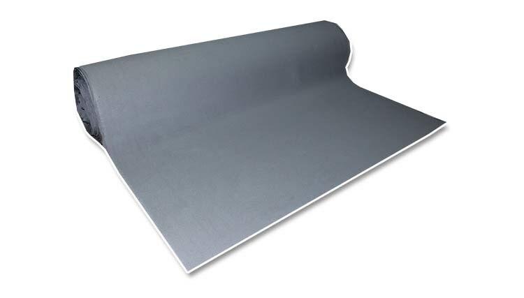 Hoge Kwaliteit grijs foam backing dak voering auto plafond pro BEKLEDING cover headliner stof Materiaal 47