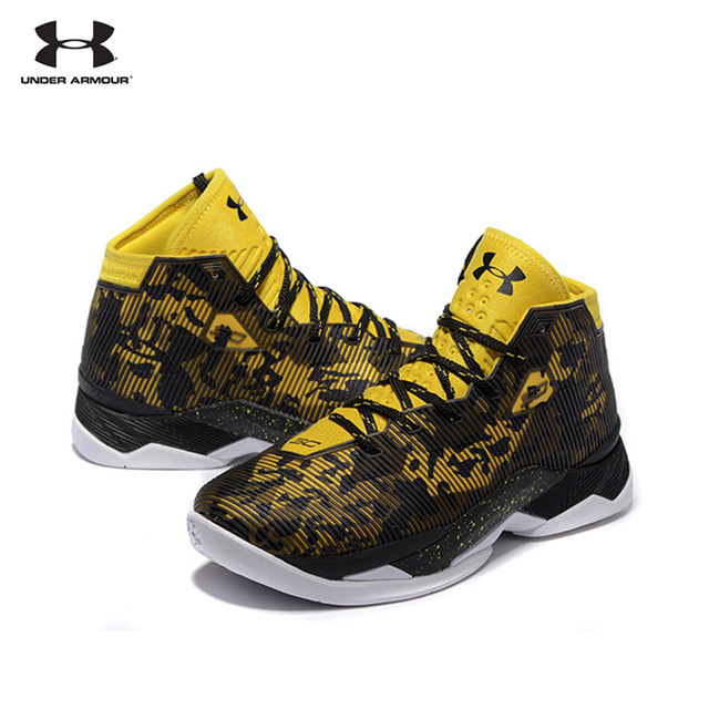 e5949253fe58 UNDER ARMOUR New Arrival UA Men s Curry 2.5 Sport Basketball Sneakers For  Male Outdoor Medium Cut Athletic Cushioning Shoes