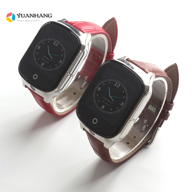Kids Elder Smart Horloge GPS LBS WIFI Locatie 1.54 Touch Screen Kid Oudere Kind 3g SOS Call Monitor Tracker alarm Horloge-in Smart watches van Consumentenelektronica op  Groep 1