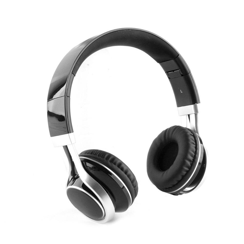 JRGK Casque 3.5mm Filaire Stéréo Casque Pliable Avec Microphone Bandeau Écouteur Big Auriculares Pour Jeu PC Ordinateur