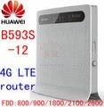 Huawei b593s-12 b593 3g 4g lte cpe router inalámbrico 4g mifi fdd lte 4g Router wifi dongle todos banda pk e890-75 b880-75 e5172-22