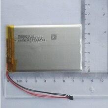 Батарея 3,7 V для FIIO X5 X3 X7 I, II, III Динамик Bateria литий-полимерный перезаряжаемый аккумулятор Пакет Replaceement 3600 mAh трек код