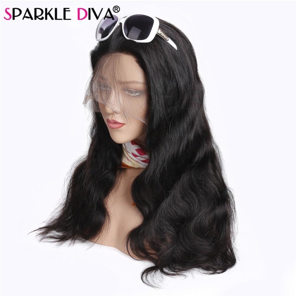 Предварительно сорвал 360 Кружева Фронтальная парики объемная волна полный фронтальный кружева парики человеческих волос натуральных воло...