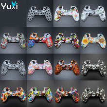 YuXi Anti-slip Soft Silicone Cover Skin Rubber Case for Sony PlayStation Dualshock 4 PS4 DS4 Pro Slim Controller ivyueen 9 in 1 for dualshock 4 ps4 slim pro controller studded skin premium protective anti slip soft silicone grip case cover
