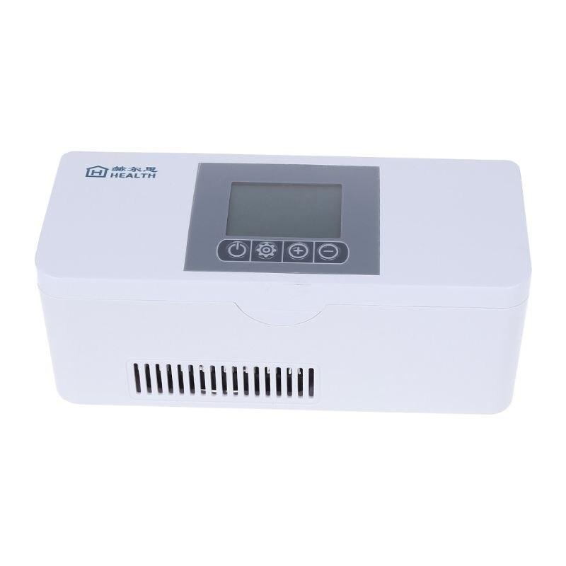 Mini réfrigérateur Rechargeable portatif de boîte de stockage de médecine froide de caisse de voyage de refroidisseur d'insuline pour le diabétique