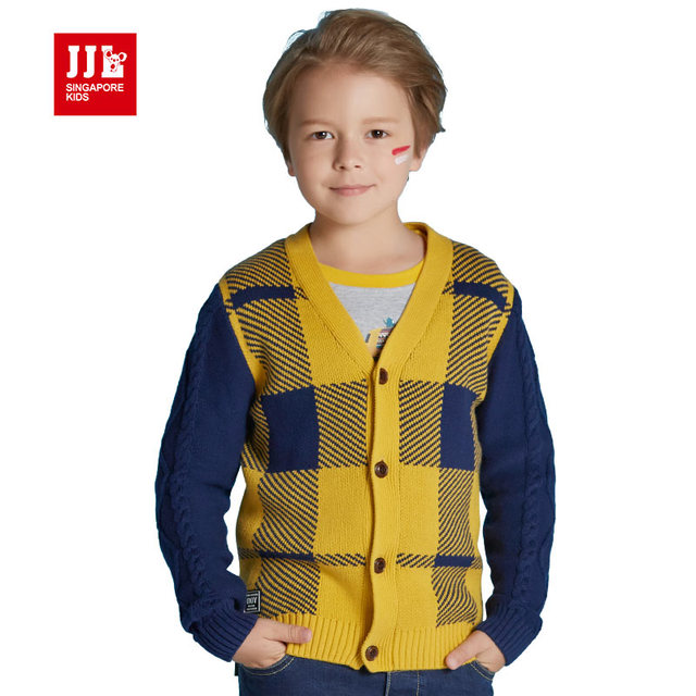2016 autumn boys cardigan kids sweater coats boys pullover kids trench children clothing boys coats