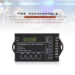 Image 3 - 업그레이드 된 TC420 TC421 시간 프로그래밍 가능 5 채널 출력 led 스트립 라이트 컨트롤러, 수족관, 수조, 식물 성장에 널리 사용됨