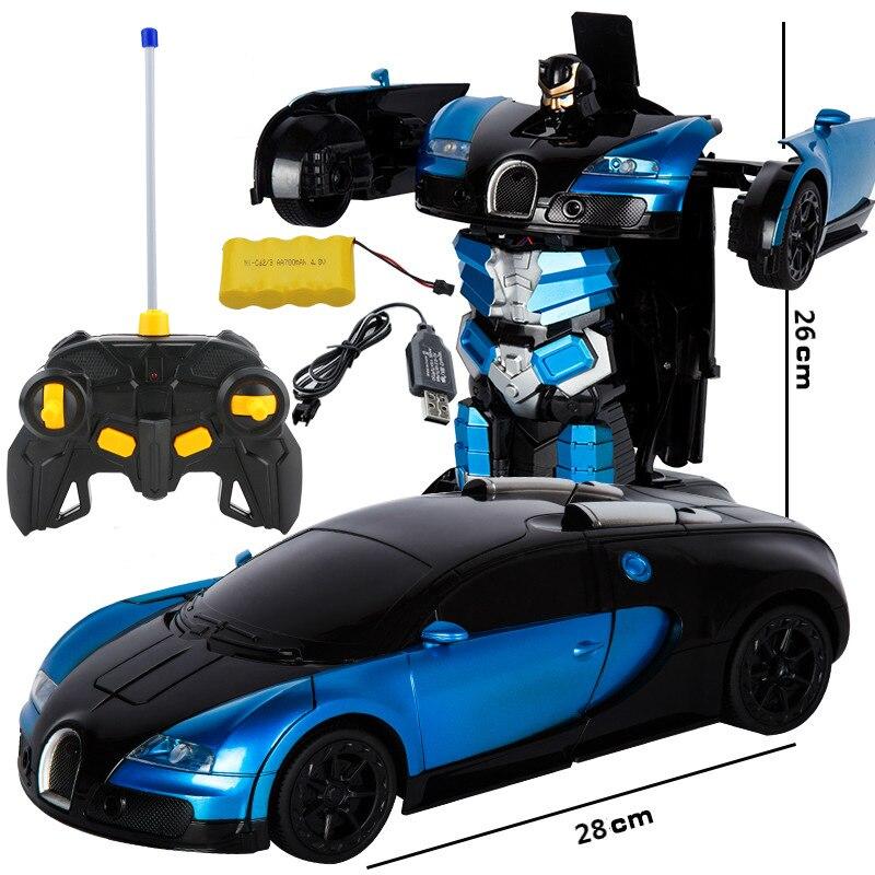 RC Transformation Car Deformation Warrior toy 30cm Action Figure Gundam Model Robot Deformation Cars