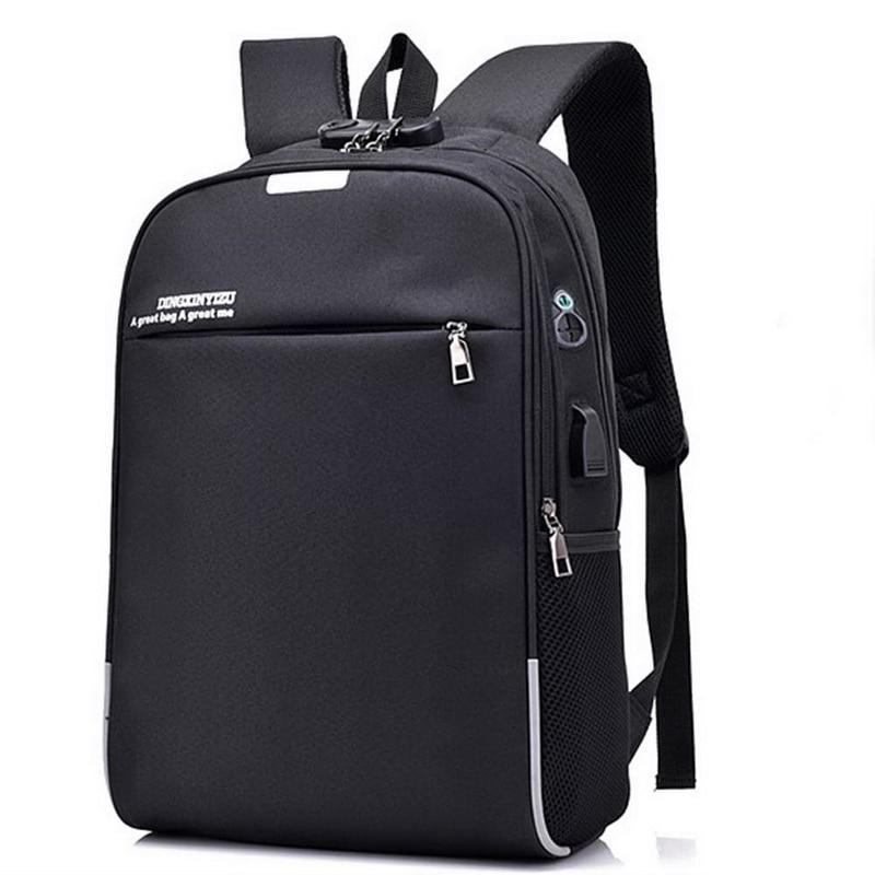 NIBESSER USB Charge Anti Theft Backpack Men Laptop Backpacks Fashion Backbag Travel School Bags Bagpack Sac A Dos Mochila