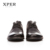 2016 XPER Marca Hombres Zapatos Casuales Zapatos Transpirables de Negocios Punta Redonda Zapatos Para Hombres Tamaño 40-45 # YM86839BN