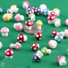 20 шт грибы статуэтки для террариума феи садовые миниатюрные