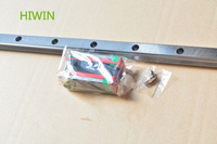HIWIN HG linear guide HGR15 15mm length 500mm linear motion slide rail with HGH15CA or HGW15CC carriage block for cnc xyz axis