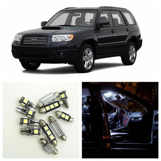 8pcs Xenon White Car Led Light Bulbs Interior Package Kit For 2003