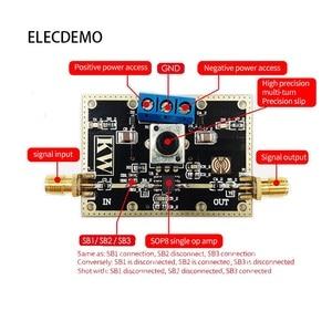 Image 4 - OP07 modul Einzigen niedrigen abweichung spannung verstärker Signal verarbeitung innerhalb von 1MHz Low offset Funktion demo Board