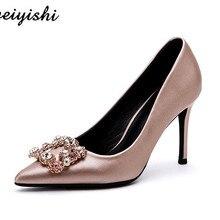 2018 donne di nuovo modo shoes. pattini della signora, weiyishi marca 005