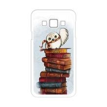 Harry Potter Owl Hedwig Case for Samsung Galaxy A3 A5 A7 J1 J5 J7 2016 E5 Note 2 3 4 5 Core Prime Grand Prime Grand Neo Alpha(China (Mainland))