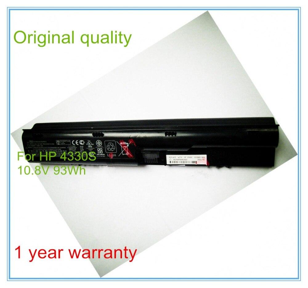 Original 9 cell 11.1V 93WH Laptop Battery PR09 For 4330S 4331S 4530S 4535S 4430S 4435S 4436S PR06 PR09 HSTNN-OB2T ao4435 4435 sop8