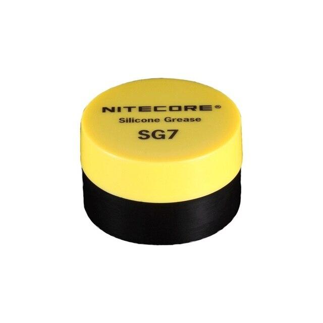 1 ピース最高の価格ホット販売 NiteCore SG7 シリコーングリース懐中電灯 (5 グラム)