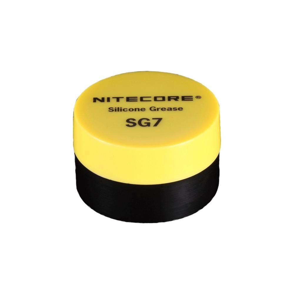 1 Piece Best Price Hot Sale NiteCore SG7 Silicone Grease Flashlight (5g)