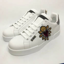 Женские теннисные туфли с бусинами и цветами, женские кроссовки из натуральной кожи, роскошные брендовые модные туфли больших размеров