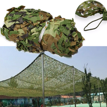 1.5M x 4M (5FT 13FT) Woodland Digital Camo Netting Outdoor Military Army Camouflage Net CS Games Sun Shelter Sunshade